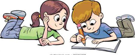 reporte de lecturas infantil